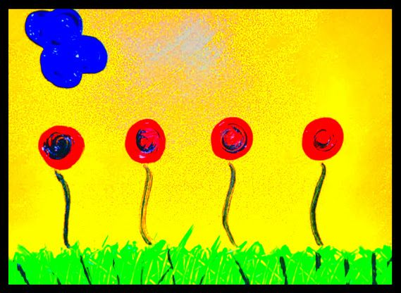 34 best abstract art flowers by trey coppland images on for Abstract art definition for kids