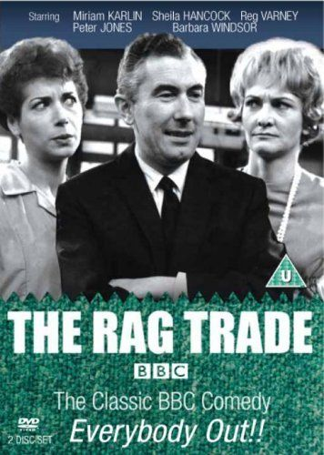 The Rag Trade - BBC Series 1 [DVD] DVD ~ Peter Jones, http://www.amazon.co.uk/dp/B000BBG93A/ref=cm_sw_r_pi_dp_nOxvtb0S13SX1