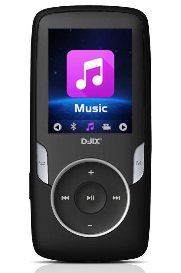 Lecteur audio vidéo MP3-MP4 D-jix M1820 NOIR