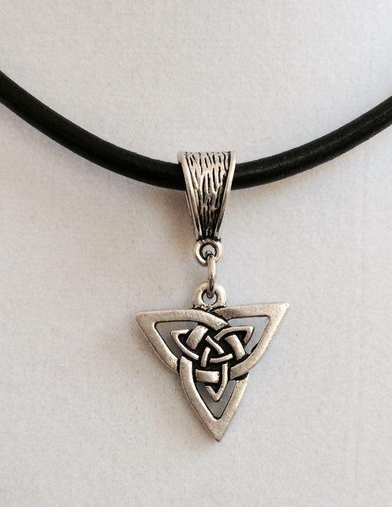 Celtic Pendant Necklace by joytoyou41 on Etsy, $28.00