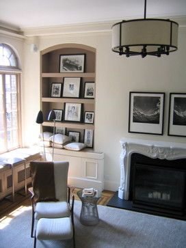 Wall niches, Shelves and Living rooms on Pinterest