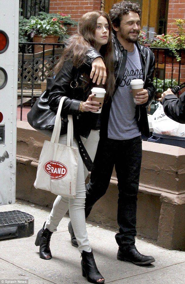 Amber Heard and James Franco
