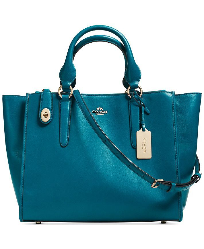 Coach Crosby Carryall in Teal