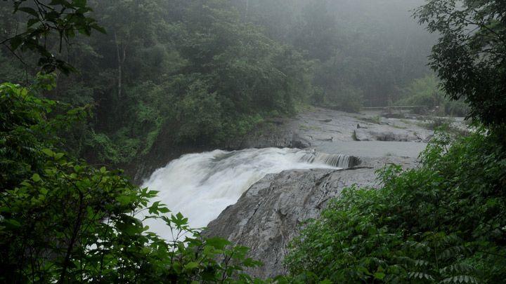 Kanthanpara Waterfalls at Kalpetta in Wayanad   Kerala Tourism