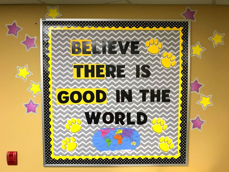 Be The Good - Believe There Is Good in the World Bulletin Board
