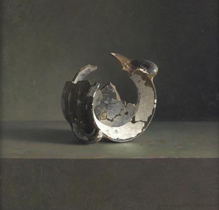 [Image: Henk Helmantel, Rembrandt's krijt-lijmpot, 2000]