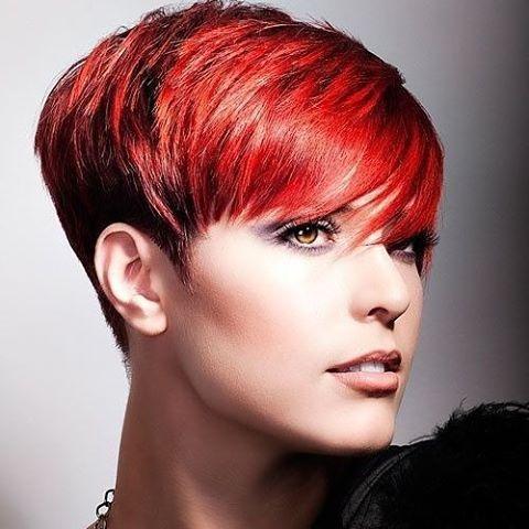 #redhair #haircut #haircolor