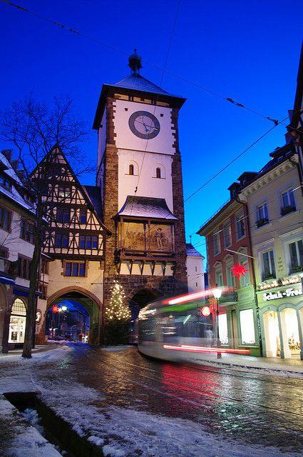 Schwabentor (Freiburg im Breisgau), Baden-Württemberg, Germany