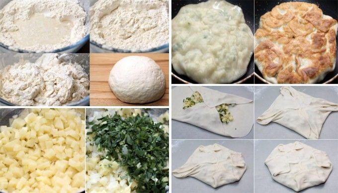 Pastýřské plněné placky - jídlo chudých