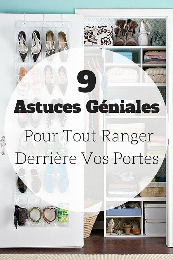 9 Astuces Géniales Pour Tout Ranger Derrière Vos Portes