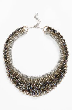 Nakamol+Design+'Graduated'+Crystal+Collar+Necklace+available+at+#Nordstrom