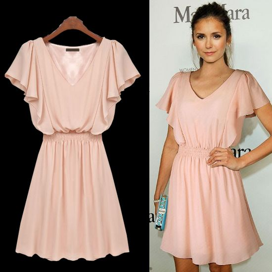 16 Best images about Pink dresses on Pinterest | Lace, Pale pink ...