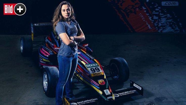 Andere Mädchen haben in ihrem Alter nur ihre Freundinnen und Jungs im Kopf. Sophia Flörsch aber hat nur ein Ziel: die Formel 1! Foto: Toby…