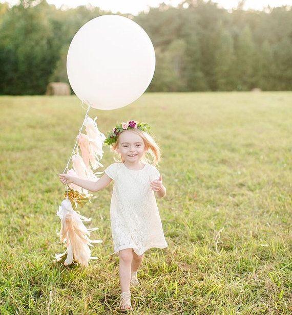 Balloon Tassel  36 inch Oval Balloon Set OR by GlamFeteByBri 30