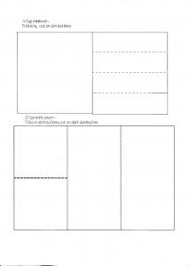Lots of templates for mini books