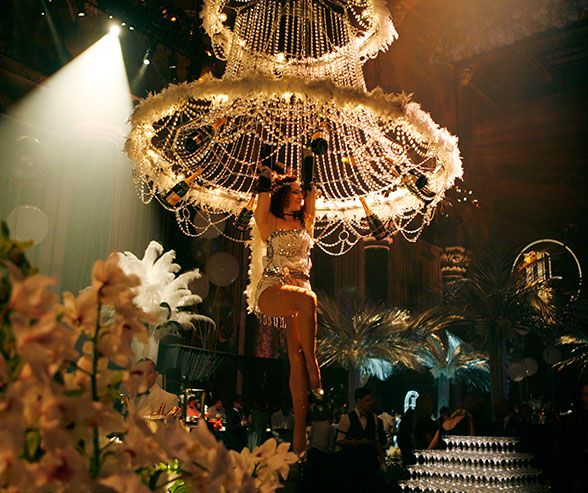New York Party Colin Cowie White Cipriani Great Gatsby Wedding