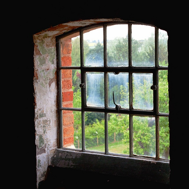 Southwell Workhouse, Nottinghamshire. Windows were placed deliberately high, and often had sloping window sills. This was to prevent inmates from looking out - further increasing their isolation from the outside world.
