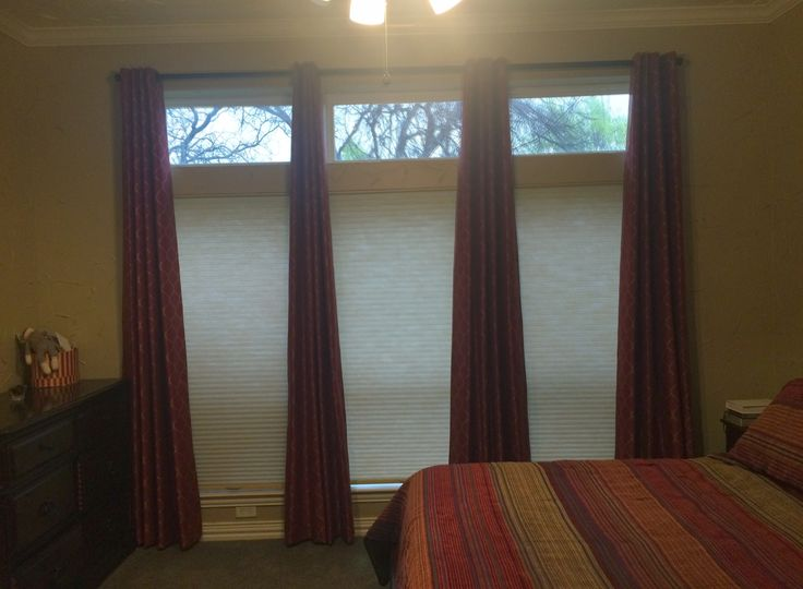neutral color double cell light filtering cellular shades