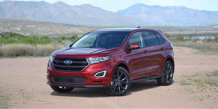 2017 Ford Edge: updated compact crossover - http://carsintrend.com/2017-ford-edge/