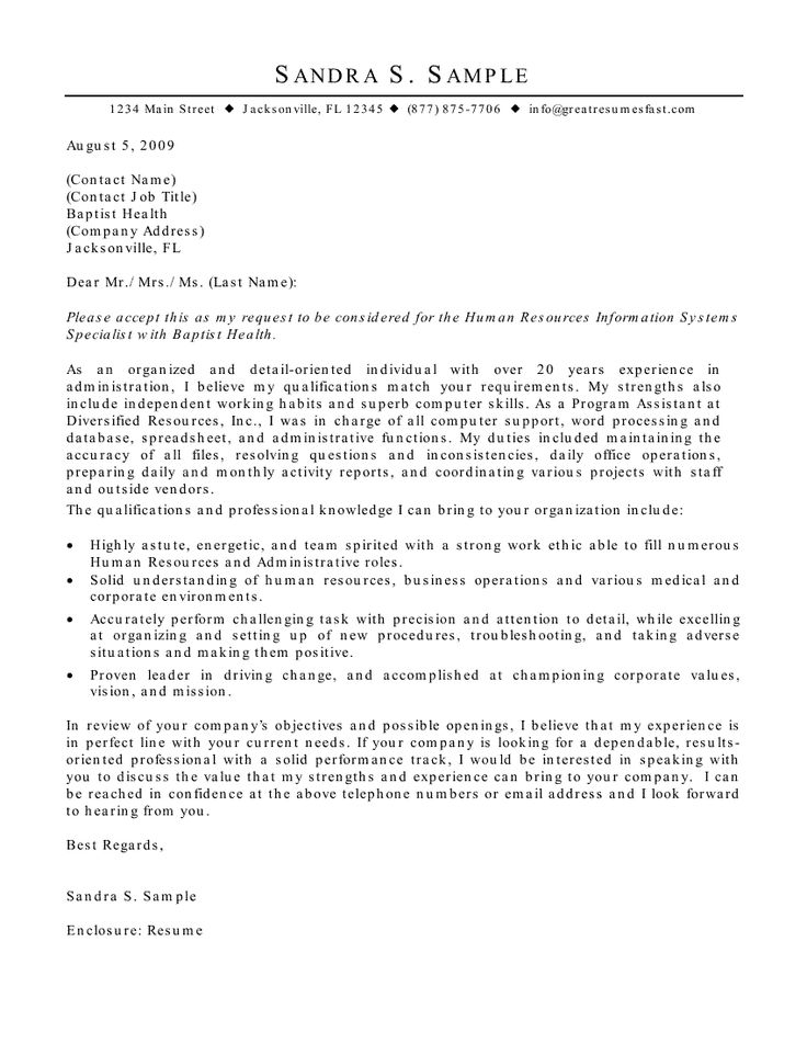 Best 25+ Application letter sample ideas on Pinterest Letter - business cover letter sample