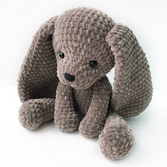 PDF Pattern Crochet Toy Cute Puppy Dog Amigurumi Pattern