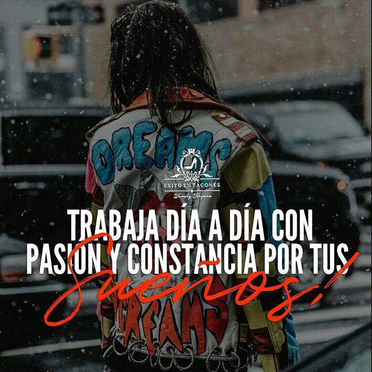 Prefiere MIL VECES trabajar todo el día en TU SUEÑO, a estar de 8am a 5pm cumpliendo los de otros!!! -WV- Síguenos por Instagram @exitoentaconeswv #exitoentacones #frase #motivacion #dequeestashecha #exito #liderazgo #mujerimparable #entrepreneur #bossgirl #ConstruyendounImperio #Imparable #Inquebrantable #Legado #EstilodeVida #Sueños