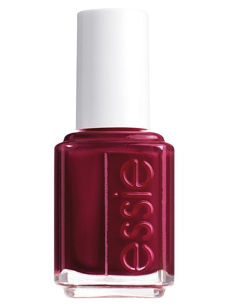 """Лак для ногтей, оттенок 50 """"Бордо"""", 13,5 мл Essie. Цвет темно-красный."""