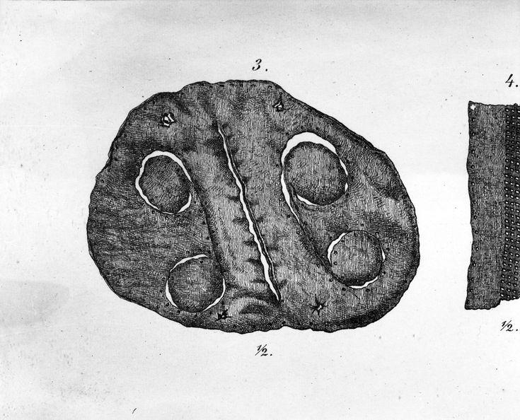 Gokstad purse Museum spec drawing