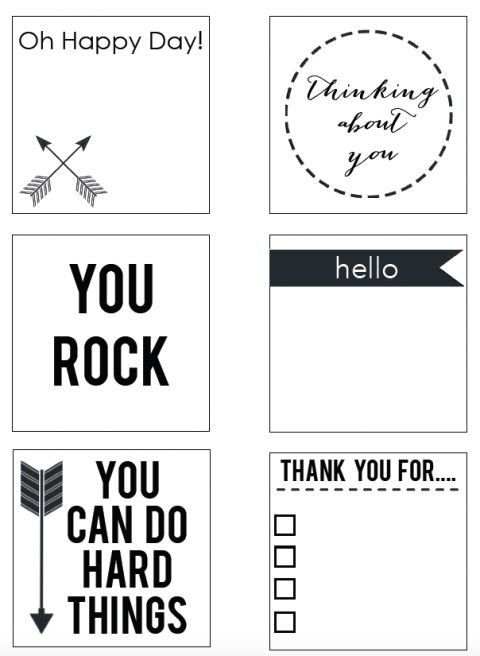 Best Post It Printables Images On   Printables