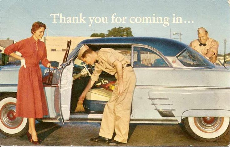 I found this old Chevron advertising postcard on Paul Castain's blog: http://yoursalesplaybook.com