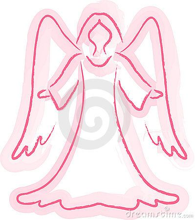 Angel Sketch Royalty Free Stock Photos - Image: 6651848
