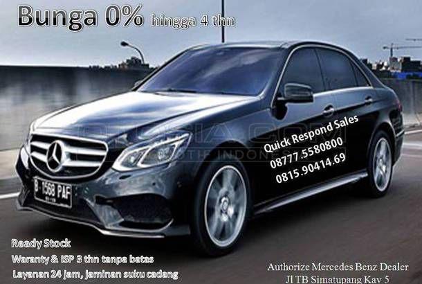 Dijual Mobil Bekas Jakarta Barat - Mercedes Benz E-Class, 2015