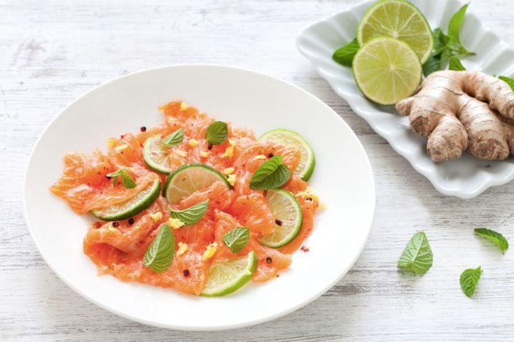 Carpaccio di salmone ricetta