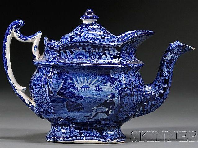 Dreamy Staffordshire Teapot