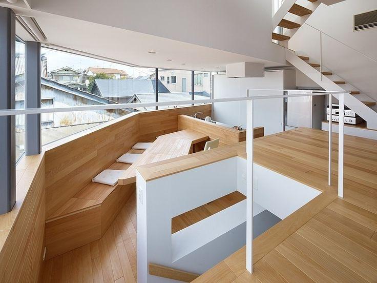 House at Kawachi-Matsubara by Fujiwaramuro Architects