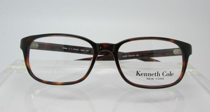 Kenneth Cole Street Wrap Eyeglass Frames Glasses Mens NEW