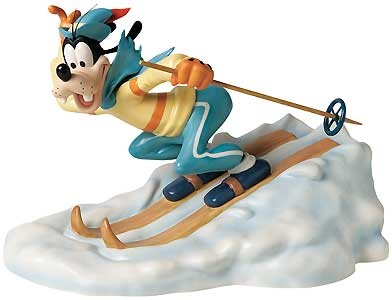 The Art of Skiing - Goofy - Walt Disney Classics Collection - World-Wide-Art.com - $225.00 #WDCC #Disney #Goofy