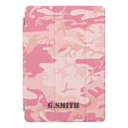 Pink Camouflage. Camo your iPad Pro Cover