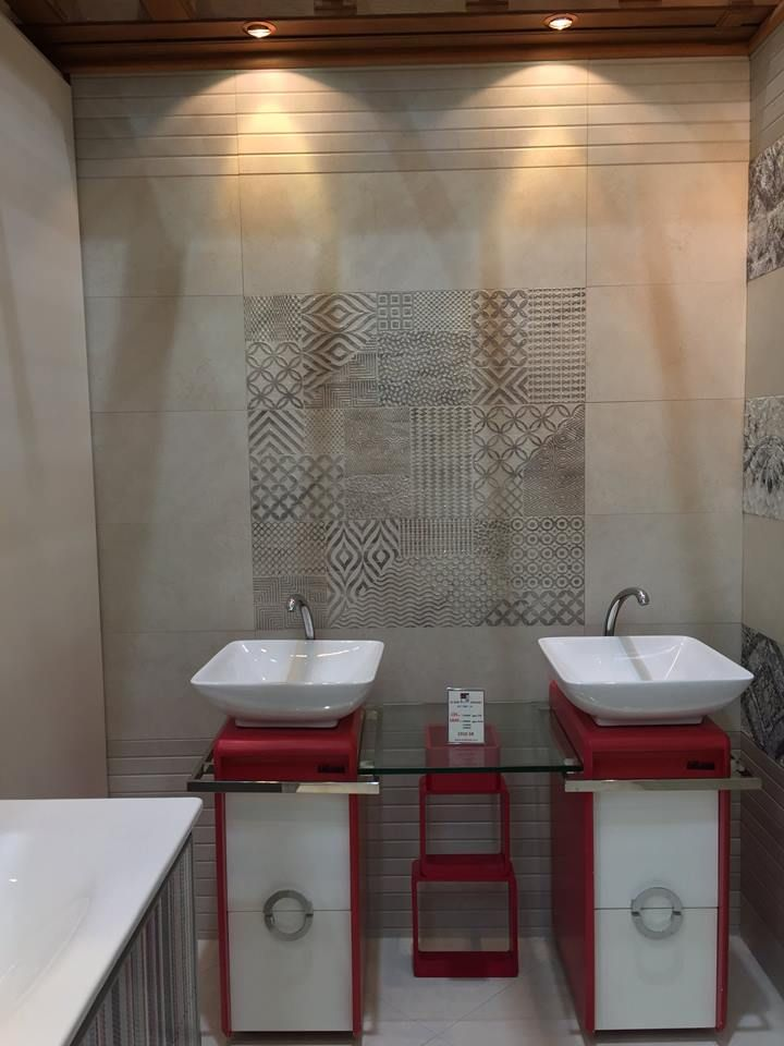 Here you have the rest of the photos our customer Taif Al Raki For Ceramic sent us after designing his new showroom with our #ceramic #tile collections!