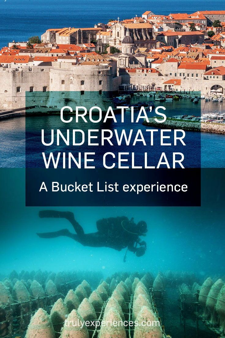 Great Depths Dive Down To Underwater Croatian Cellar Followed By