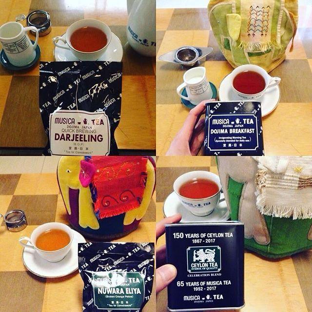 老舗紅茶屋さん堂島ムジカの常連だった店主によるムジカティーの紅茶をご紹介する日!()! 参加費一種類500円  2/3(土)ムジカティーの紅茶を紹介する日(11:00-18:00)