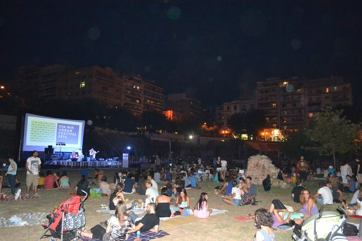 Pic Nic Urban Festival, Ancient Roman Agora, Thessaloniki