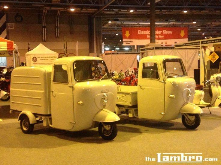NEC Classic Car and Motorbike Show - Box and Pickup Lambro 175