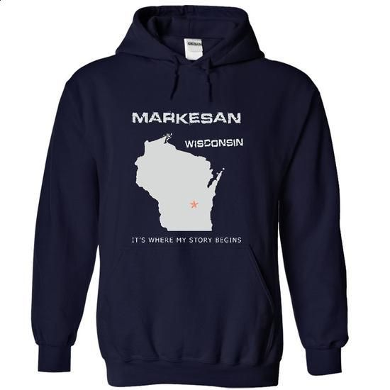 Markesan- WIS - #cheap sweatshirts #work shirt. ORDER NOW => https://www.sunfrog.com/LifeStyle/Markesan-WIS-2476-NavyBlue-19075072-Hoodie.html?60505