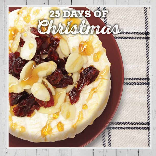 Baked brie is the ultimate crowd pleaser. Farm Boy makes preparation a breeze with a Gourmet du Village Brie Baker. The kit includes a ceramic baking dish, the nutty-sweet cranberry and almond topping, and baking instructions. Just add brie! #FB25daysofChristmas