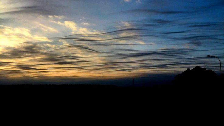 Fairytale #nature #landscape #sunset #sky #poland #olsztyn