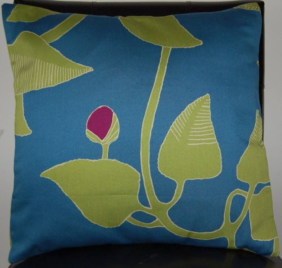 16 x 16 Marimekko Contemporary Cushion Cover by BabsBoutiquee, $11.00