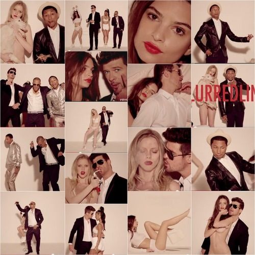 Blurred Lines- Robin Thicke