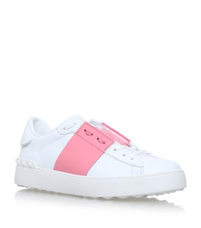 VALENTINO Colour Block Open Trainers. #valentino #shoes #