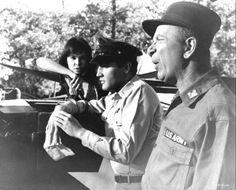 Kissin' Cousins =1964 -  Elvis Presley  (  Yvonne Craig as Azalea Tatum , Elvis Presley as Josh Morgan, and Jack Albertson as Captain Robert Jason Salbo.  )